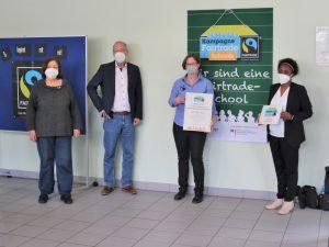 Fairtrade meets Dr.-Walter-Bruch-Schule in St. Wendel