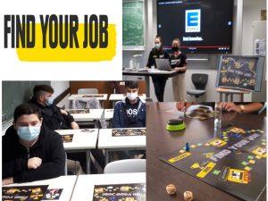 """""""Find your job"""" Berufsorientierung in der Berufsfachschule"""