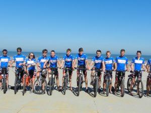 Hoek van Holland war Ziel einer 700-Kilometer-Radtour