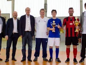 Begeisternder Hallenfußball für den guten Zweck – Kaufmännischer Bereich rockt den 2. DWBS-Cup