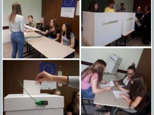 Juniorwahl zur Europawahl 2019 – Oberstufengymnasium der Dr.-Walter-Bruch-Schule war mit dabei