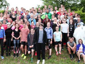 Teilnahme des beruflichen Oberstufengymnasiums der Dr.-Walter-Bruch-Schule an der Sportabzeichen-Tour 2017